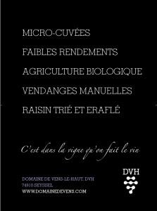 Poster affiche vins du Mont Blanc